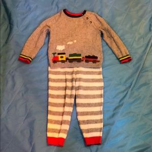 Baby Boden boys sweater set